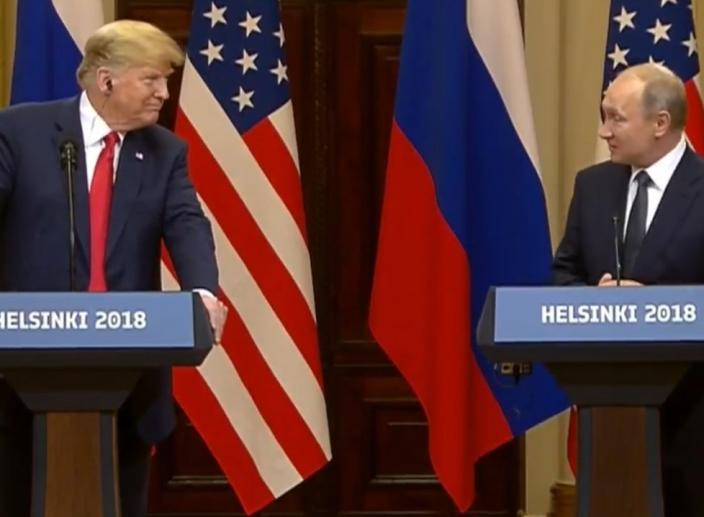 Trump Meets Putin in Helsinki, Finland