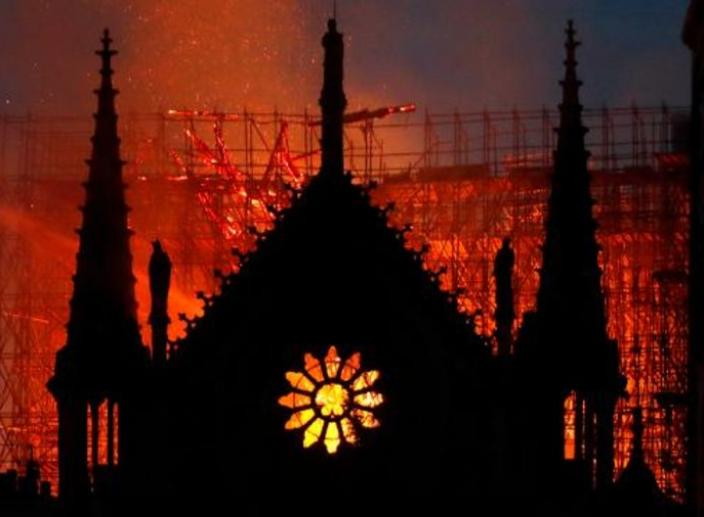 Cathedral of Notre Dame Barely Saved From Destruction